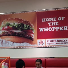 Photo taken at BURGER KING 品川シーサイドフォレスト店 by munehisa i. on 7/11/2012