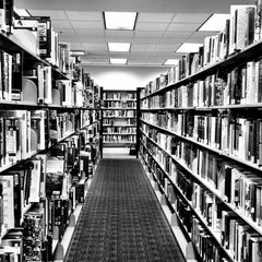 Photo taken at Kalamazoo Public Library by Jacob N. on 4/14/2012