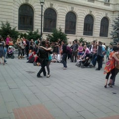 Photo taken at Lipscani by Matei E. on 6/5/2012