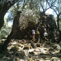Photo taken at Parco Archeologico di Santa Cristina by Anais B. on 8/18/2012