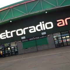 Photo taken at Metro Radio Arena by Luke Alexander O. on 6/30/2012