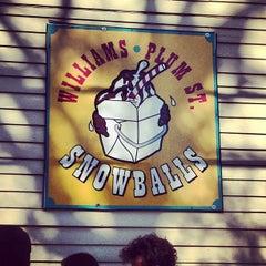 Photo taken at Plum Street Sno-Balls by Julie H. on 3/15/2012