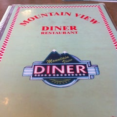 Photo taken at Mountain View Diner by Beth P. on 4/18/2012