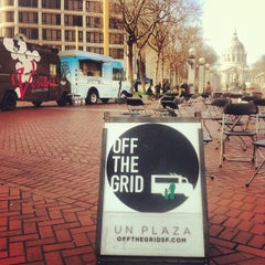 Photo taken at Off the Grid: UN Plaza by Off the Grid on 2/21/2012