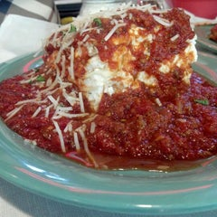Photo taken at Deano's Gourmet Pizza by Victoria V. on 4/20/2012