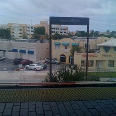 Photo taken at MDT Metrorail - South Miami Station by Melissa B. on 7/15/2012