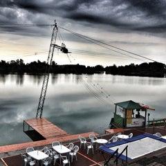 Photo taken at Dunaharaszti Wakeboard by Bagi P. on 6/25/2012