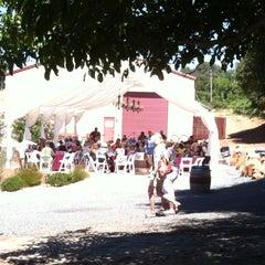 Photo taken at Borjon Winery by Tony L. on 9/1/2012