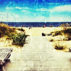 Photo taken at 69th Street at the Oceanfront by SingleMan P. on 8/4/2012