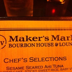 Photo taken at Maker's Mark Bourbon House & Lounge by Ben A. on 3/11/2012