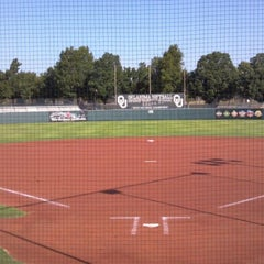 Photo taken at Marita Hynes Field at the OU Softball Complex by Ken on 7/24/2012