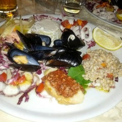Photo taken at Ristorante Cavaliere Nero by Matteo M. on 8/24/2012