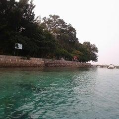Photo taken at Pulau Karya by inayah h. on 7/6/2012