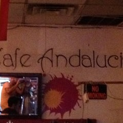 Photo taken at Cafe Andalucia by Janell B. on 5/17/2012