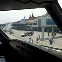Photo taken at Minangkabau International Airport (PDG) by Idan Assa R. on 8/25/2012