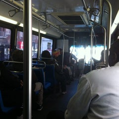 Photo taken at MTA Bus - M23 by Claude N. on 4/3/2012