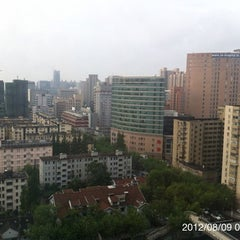 Photo taken at Hope Hotel Shanghai by Masataka K. on 8/8/2012