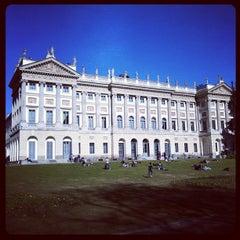 Photo taken at Giardini di Villa Reale by Patrick T. on 2/26/2012