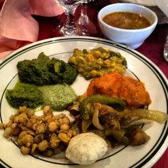 Photo taken at Saffron Indian Cuisine by Craig L. on 7/8/2012