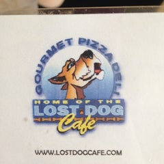 Photo taken at Lost Dog Cafe by Marshall F. on 3/18/2012