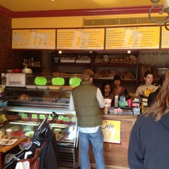 Photo taken at Brooklyn Bread Cafe by J C. on 3/17/2012