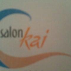 Photo taken at Salon Kai by Teresa G. on 2/12/2012