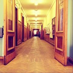 Photo taken at Географический факультет МГУ by Nadezda K. on 4/5/2012