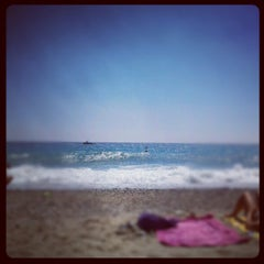 Photo taken at Spiaggia delle Fornaci by Andrea on 8/26/2012