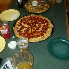 Photo taken at Woodstock's Pizza by David J. F. on 6/3/2012