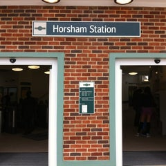 Photo taken at Horsham Railway Station (HRH) by Stephen B. on 9/1/2012
