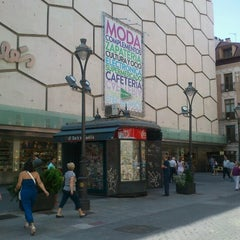 Photo taken at El Corte Inglés by Nacho D. on 7/14/2012