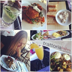 Photo taken at Trattoria Italian Kitchen by laura h. on 7/10/2012
