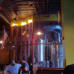 Photo taken at Harvest Moon Brewery by Jennifer B. on 6/17/2012