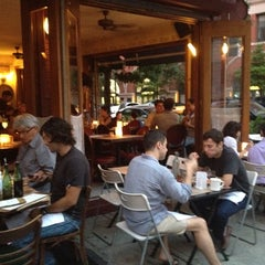 Photo taken at Malatesta Trattoria by Andrew C. on 8/2/2012