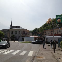 Photo taken at Mairie de Plombieres les Bains by Christophe B. on 5/17/2012