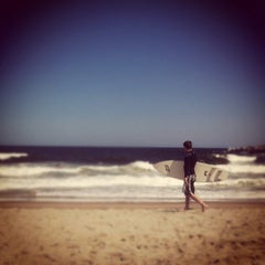 Photo taken at Manasquan Beach by Jolene on 6/16/2012