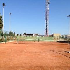 Photo taken at Tennis Club De L'Avenir Sportif De La Marsa by Fateh B. on 7/25/2012