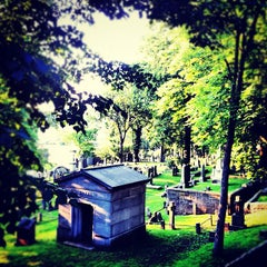 Photo taken at Trinity Church Cemetery & Mausoleum by Chris B. on 5/28/2012