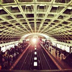 Photo taken at Metro Center Metro Station by Jose V. on 5/4/2012