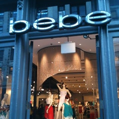 Photo taken at Bebe by M B. on 4/13/2012