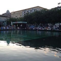 Photo taken at Erzsébet tér by Hogu V. on 7/18/2012