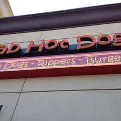 Photo taken at Fab Hot Dogs by Erik V. on 7/22/2012