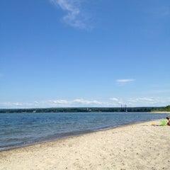 Photo taken at Presque Isle Beach 11 by Sarah F. on 5/31/2012