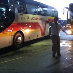Photo taken at Victory Liner (Cubao Terminal) by Dada M. on 7/6/2012