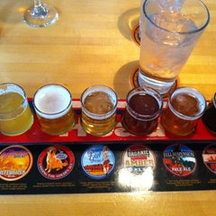 Photo taken at Squatters Pub Brewery by Rachel S. on 3/24/2012