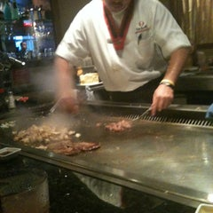 Photo taken at Wasabi Japanese Steakhouse by Novie M. on 2/24/2012