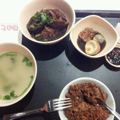 Photo taken at EAT Food Village by Lee M. on 6/27/2012