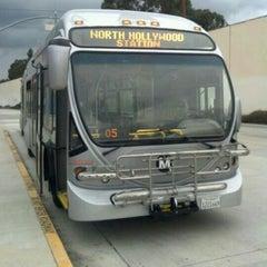 Photo taken at North Hollywood MTA Metro Red Line Bike Lockers by Derek J. on 2/13/2012