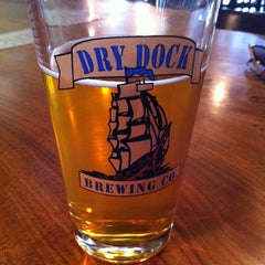 Photo taken at Dry Dock Brewing Company - South Dock by Aaron on 6/29/2012