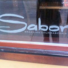 Photo taken at Sabor Brazilian Churrascaria by Verb on 3/10/2012